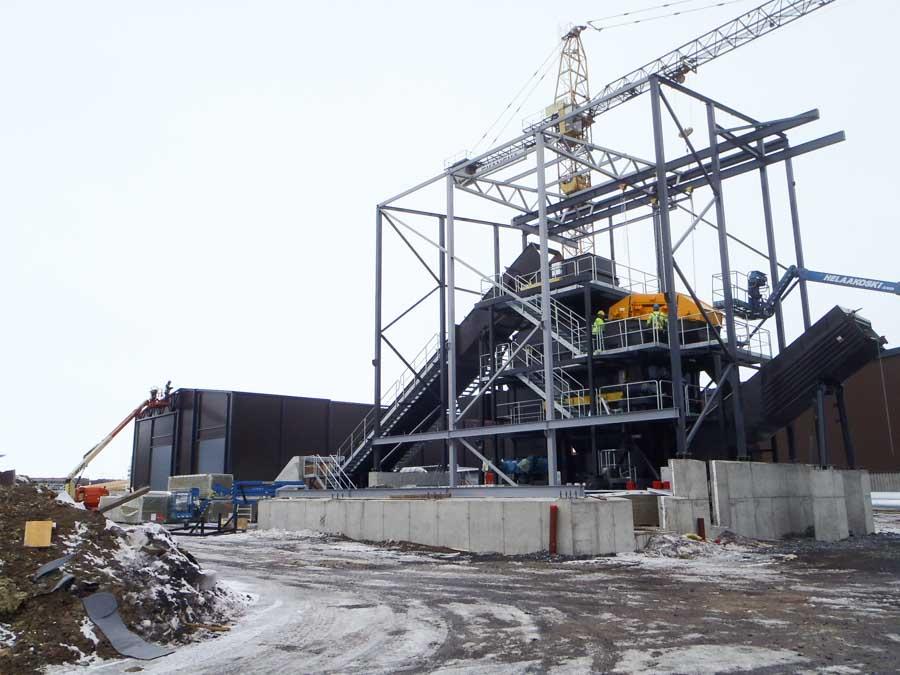 Oulun Energia Toppilan voimalaitos